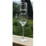 Champagneglas - Grattis