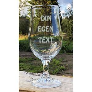 Ölglas - egen text